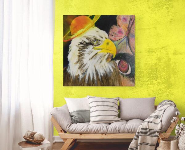 Artwork from painter Hari Maslic